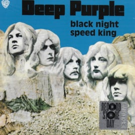 Deep Purple - Black night / Speed king (Limited RSD edition, blue vinyl)