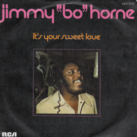 """Jimmy """"Bo"""" Horne - It's your sweet love (Franse uitgave)"""
