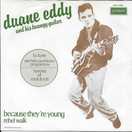 Duane Eddy and His Twangy Guitar - Because they're young