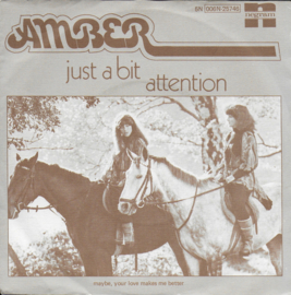 Amber - Just a bit attention