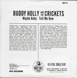 Buddy Holly and the Crickets - Maybe baby