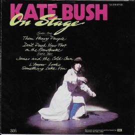 Kate Bush - On stage: Them heavy people