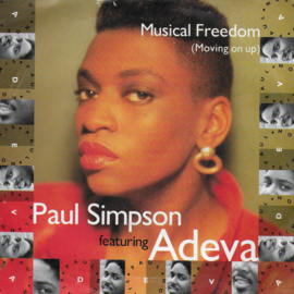 Paul Simpson feat. Adeva - Musical freedom (moving on up) (Engelse uitgave)