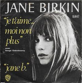 Jane Birkin - Je t'aime moi non plus (1974 uitgave)