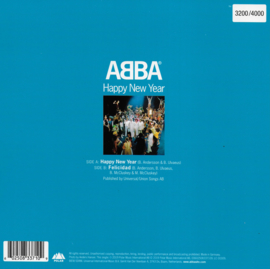 Abba - Happy New Year (clear vinyl, Limited edition)