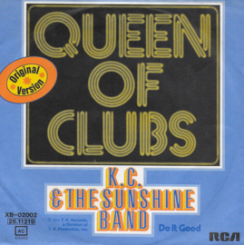K.C. & The sunshine Band - Queen of clubs (Duitse uitgave)