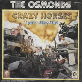 Osmonds - Crazy horses (German edition)