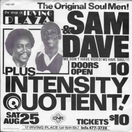Sam & Dave - Greatest Hits Medley (live)