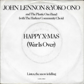 John Lennon & Yoko Ono - Happy X-mas (war is over)