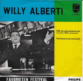 Willy Alberti - Kijk me nog eenmaal aan