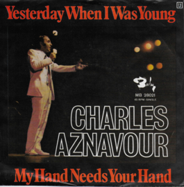 Charles Aznavour - Yesterday when i was young (German edition)
