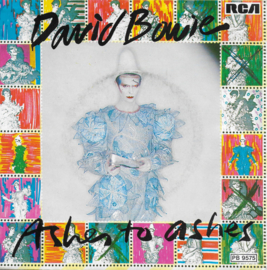 David Bowie - Ashes to ashes (Duitse uitgave)