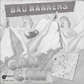 Bad Manners - Can can (black/white cover)