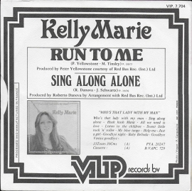 Kelly Marie - Run to me