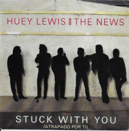Huey Lewis and the News - Stuck with you (Spaanse uitgave)