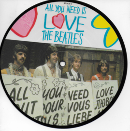 Beatles - All you need is love (Picture disc)