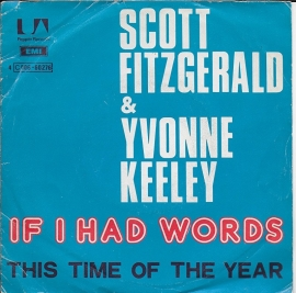 Scott Fitzgerald & Yvonne Keeley - If i had words (Alternative cover)