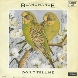Blancmange - Don't tell me (German edition)