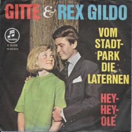 Gitte & Rex Gildo - Vom stadtpark die laternen