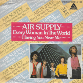 Air Supply - Every woman in the world (Duitse uitgave)