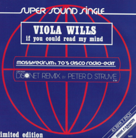 Viola Wills - If you could read my mind (Massivedrum's 70's disco edit)