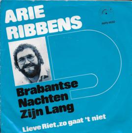Arie Ribbens - Brabantse nachten zijn lang
