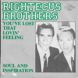 Righteous Brothers - You've lost that lovin' feeling (Alternative cover)