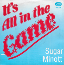 Sugar Minott - It's all in the game