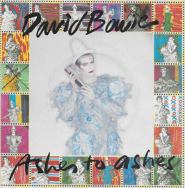 David Bowie - Ashes to ashes (Engelse uitgave)