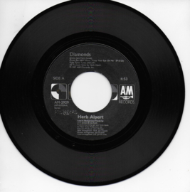 Herb Alpert & Janet Jackson - Diamonds (Amerikaanse uitgave)