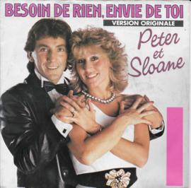 Peter et Sloane - Besoin de rien, envie de toi