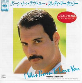 Freddie Mercury - I was born to love you (Japanese edition)