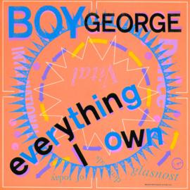 Boy George - Everything i own (Engelse uitgave)