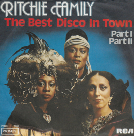 Ritchie Family - Best disco in town (Duitse uitgave)
