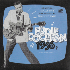 Eddie Cochran - 1956 (Limited edition, blue vinyl)