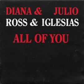 Diana Ross & Julio Iglesias - All of you (Alternative cover)