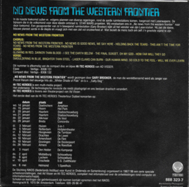 Ad Visser & Gary Brooker - No news from the western frontier