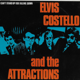 Elvis Costello and the Attractions - I can't stand up for falling down (Engelse uitgave)