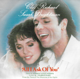 Cliff Richard and Sarah Brightman - All i ask of you (Engelse uitgave)
