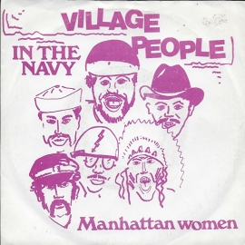 Village People - In the navy (Alternative cover)