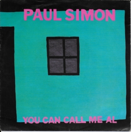 Paul Simon - You can call me Al (alternative cover)