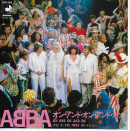 Abba - On and on and on (Japanse uitgave)