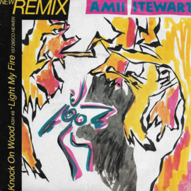 Amii Stewart - Knock on wood / Light my fire (new remix) (French edition)