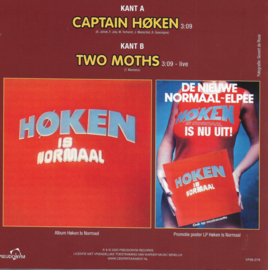 Normaal - Captain Høken / Two moths (Limited edition, geel vinyl)