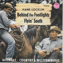 Hank Locklin - Behind the footlights