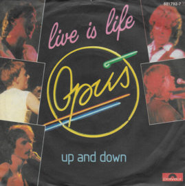Opus - Live is life (Duitse uitgave)