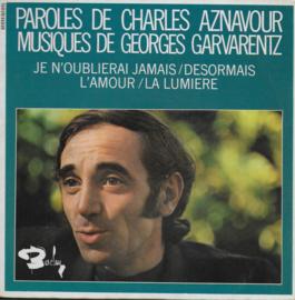 Charles Aznavour - Je n'oublierai jamais
