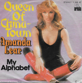 Amanda Lear - Queen of China-Town (Duitse uitgave)