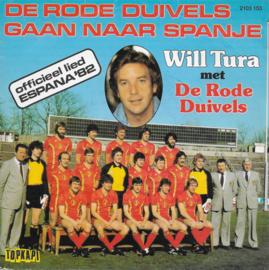 Will Tura met De Rode Duivels - De Rode Duivels gaan naar Spanje