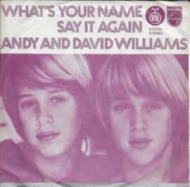 Andy and David Williams - What's your name
